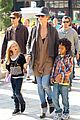 heidi klum holiday shopping at the grove 01
