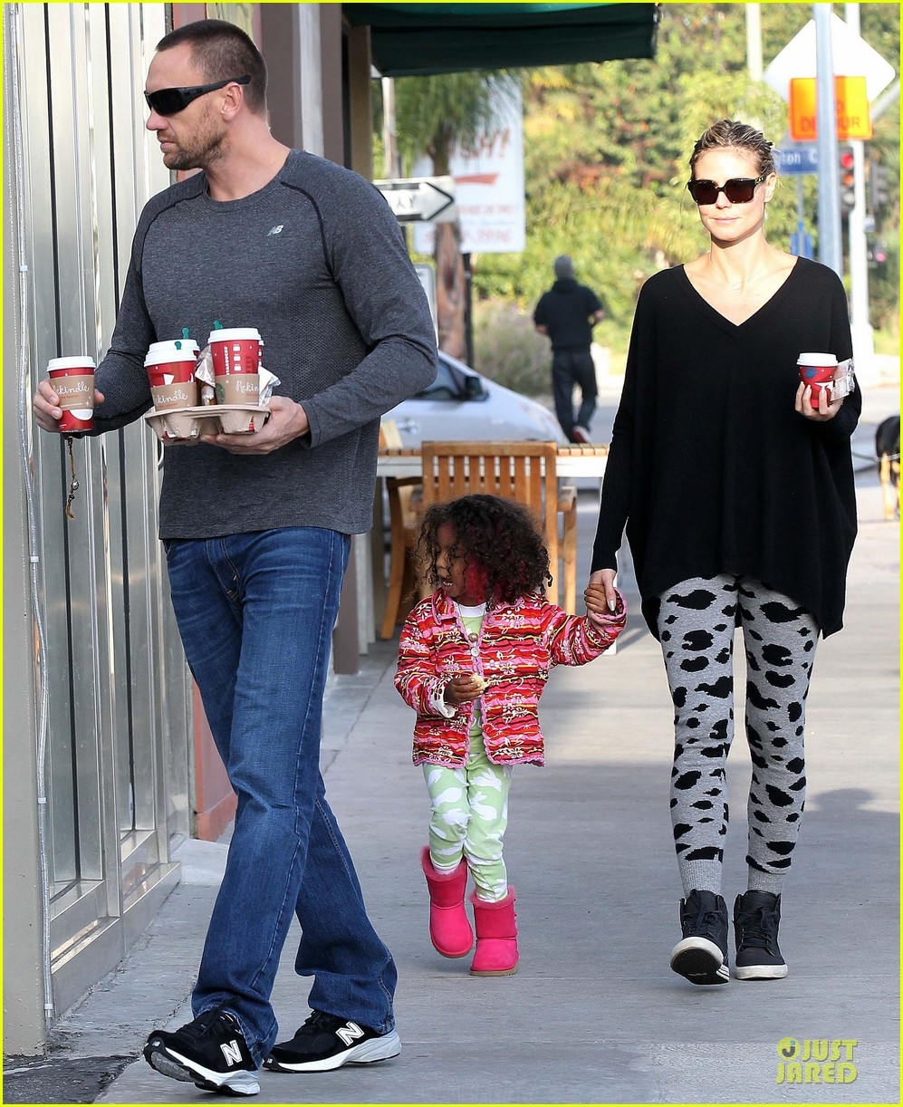 heidi klum lunch stop with the kids 132763999
