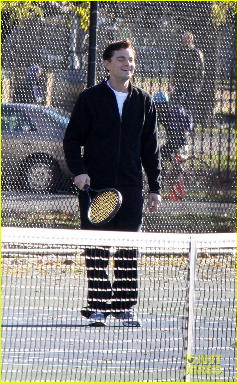 leonardo dicaprio wolf of wall street tennis match 01