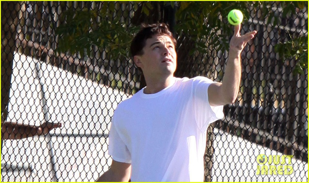 leonardo dicaprio wolf of wall street tennis match 02