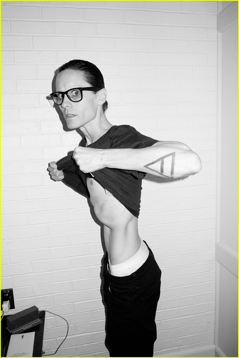 jared leto reveals weight loss shirtless for terry richardson 022765510