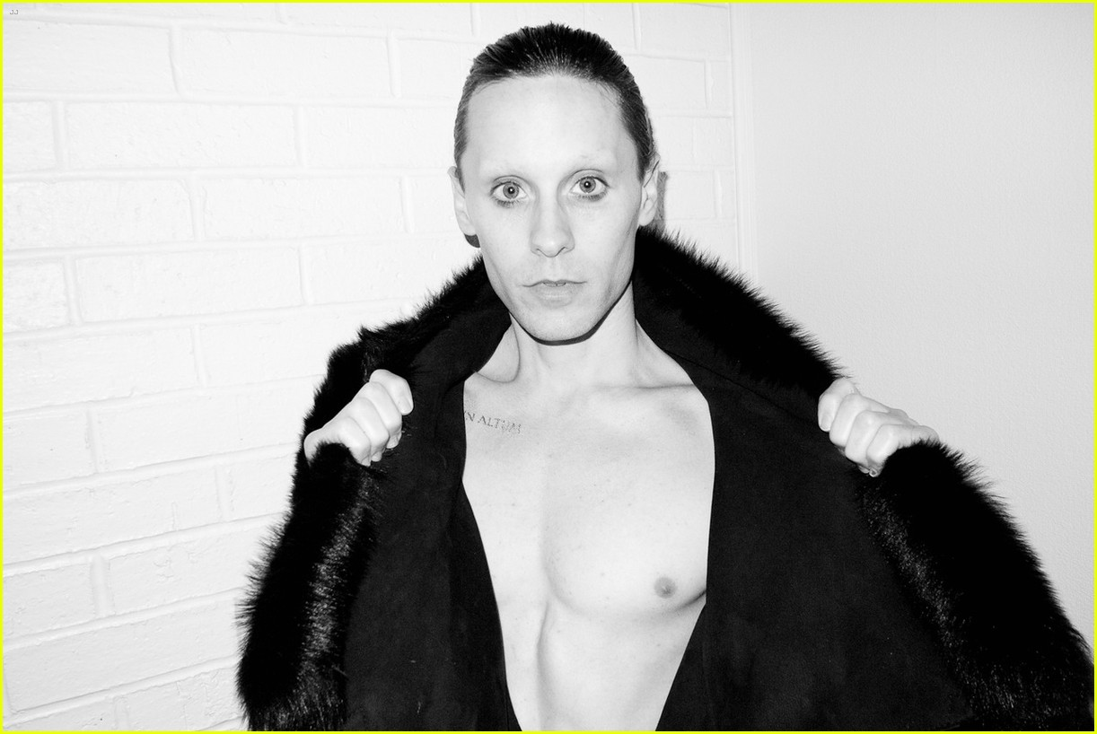 jared leto reveals weight loss shirtless for terry richardson 17