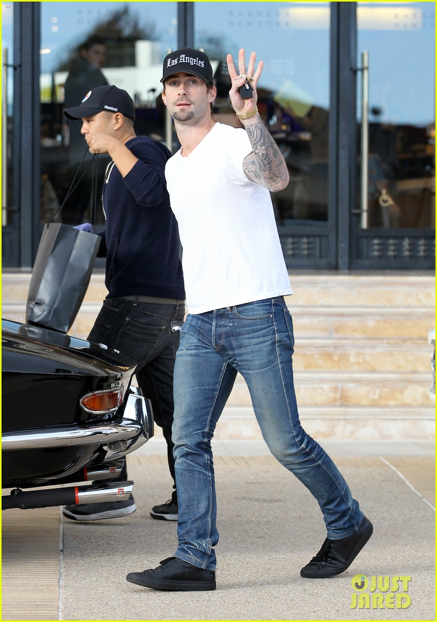 adam levine barneys new york shopper 01