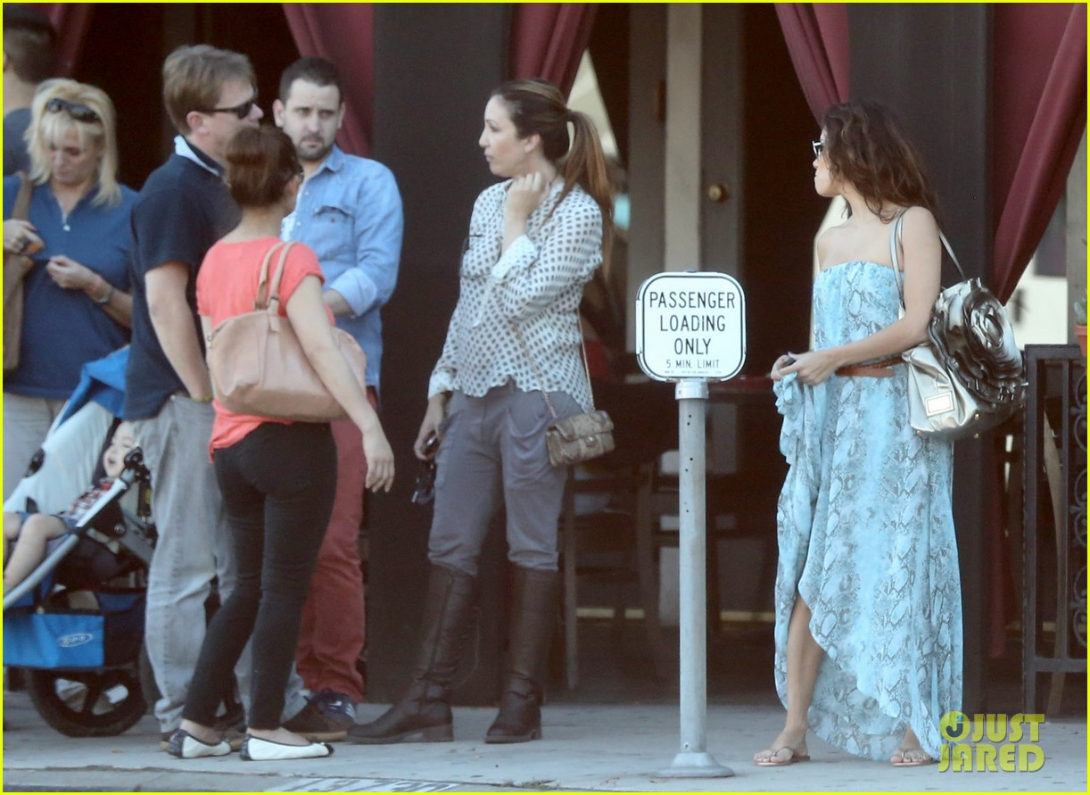 eva longoria leggy lunch in sherman oaks 172751586
