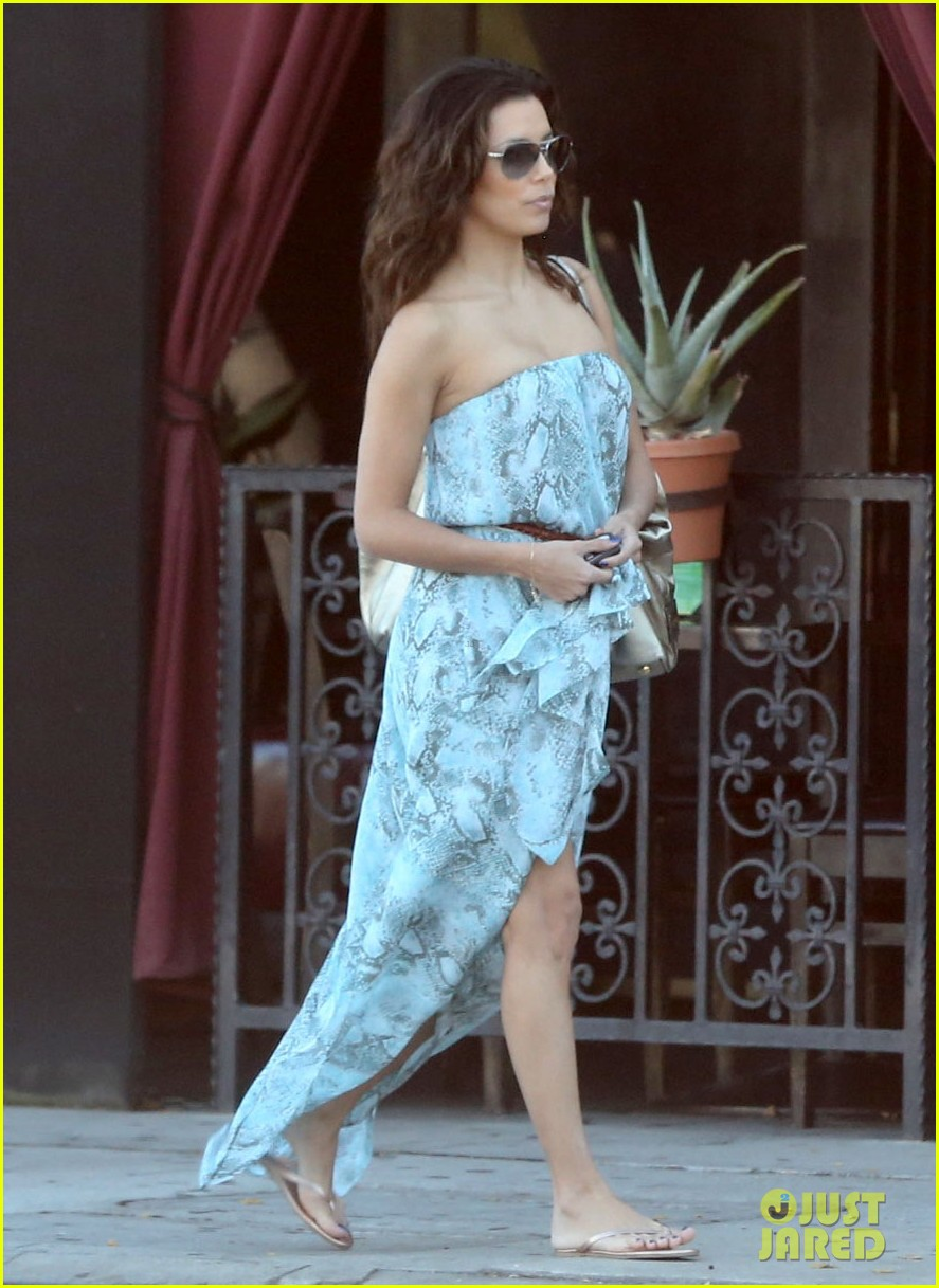 eva longoria leggy lunch in sherman oaks 20