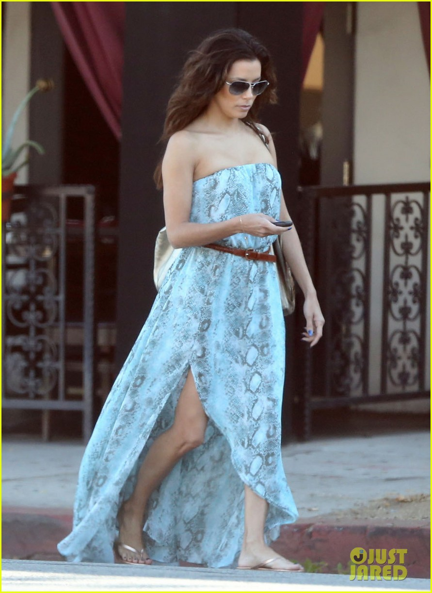 eva longoria leggy lunch in sherman oaks 23