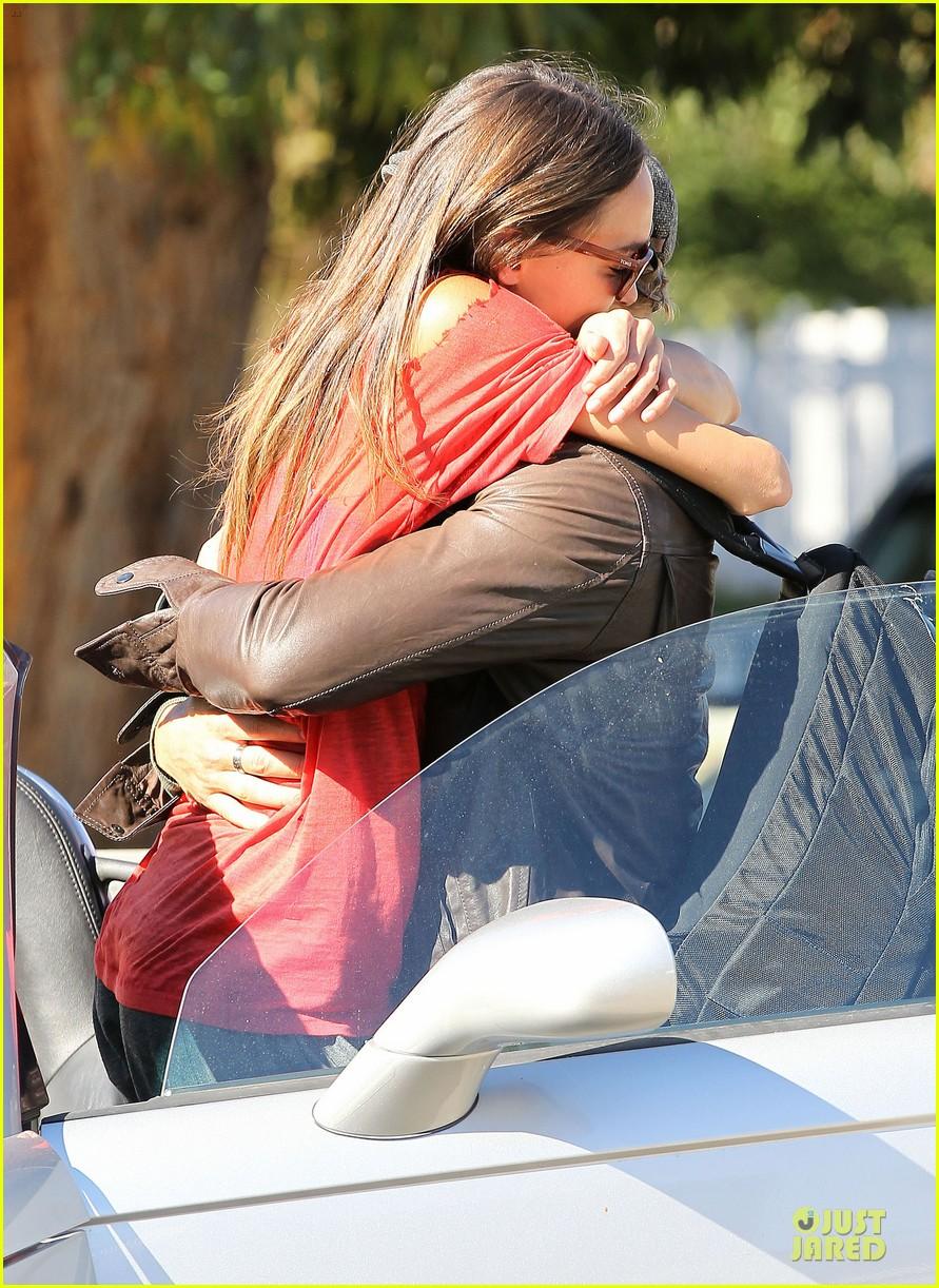 kellan lutz sharni vinson goodbye kissing couple 18