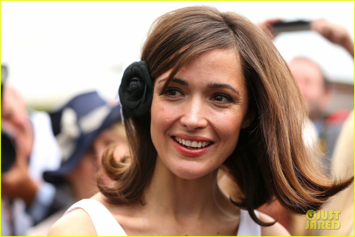 rose byrne ashley madekwe melbourne cup attendees 02
