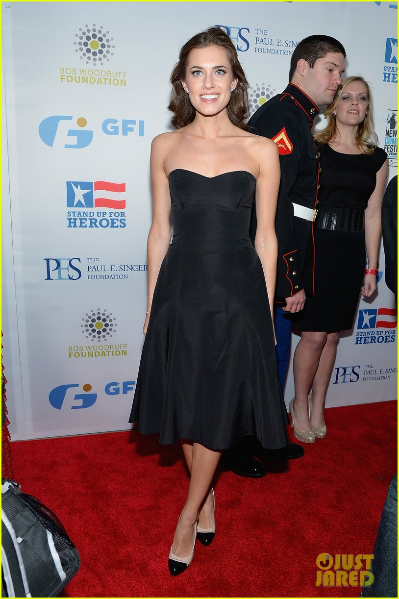 john mayer allison williams stand up for heroes event 01