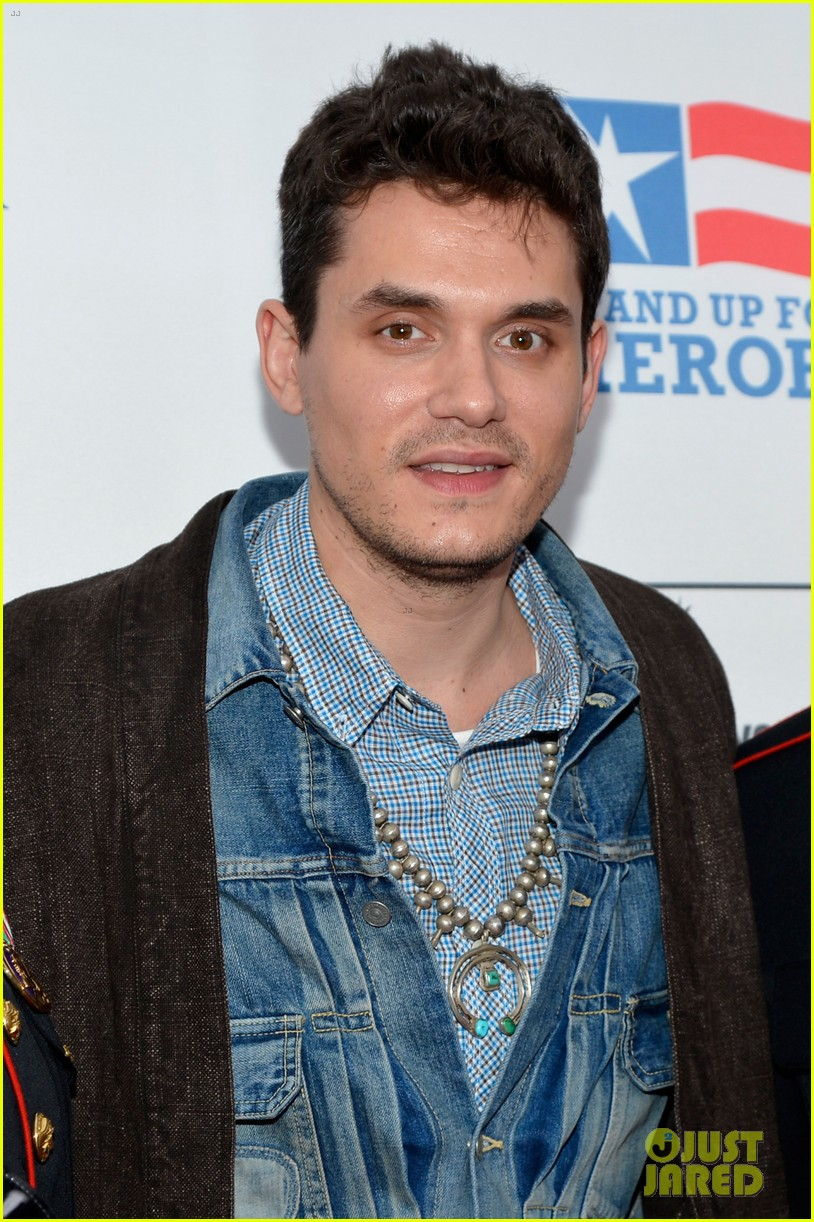john mayer allison williams stand up for heroes event 09