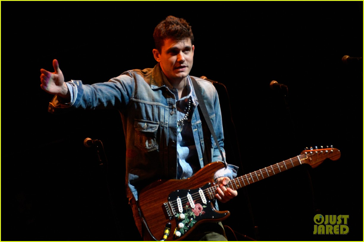 john mayer allison williams stand up for heroes event 10