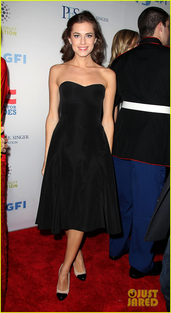 john mayer allison williams stand up for heroes event 17