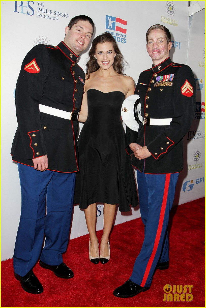 john mayer allison williams stand up for heroes event 19