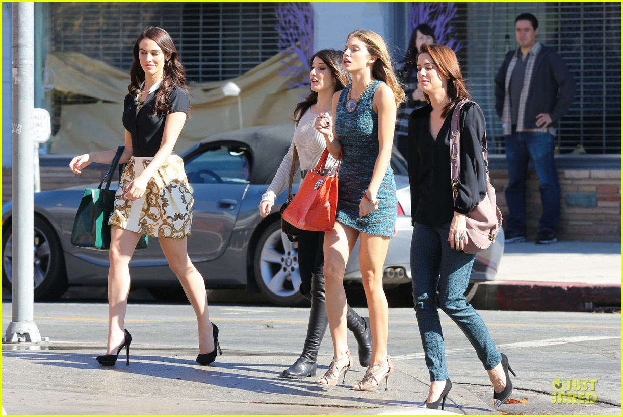 annalynne mccord 90210 set with shenae grimes & jessica stroup 152756815