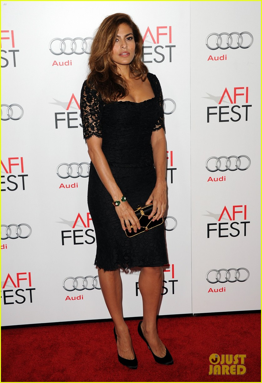 eva mendes holy motors afi screening 01