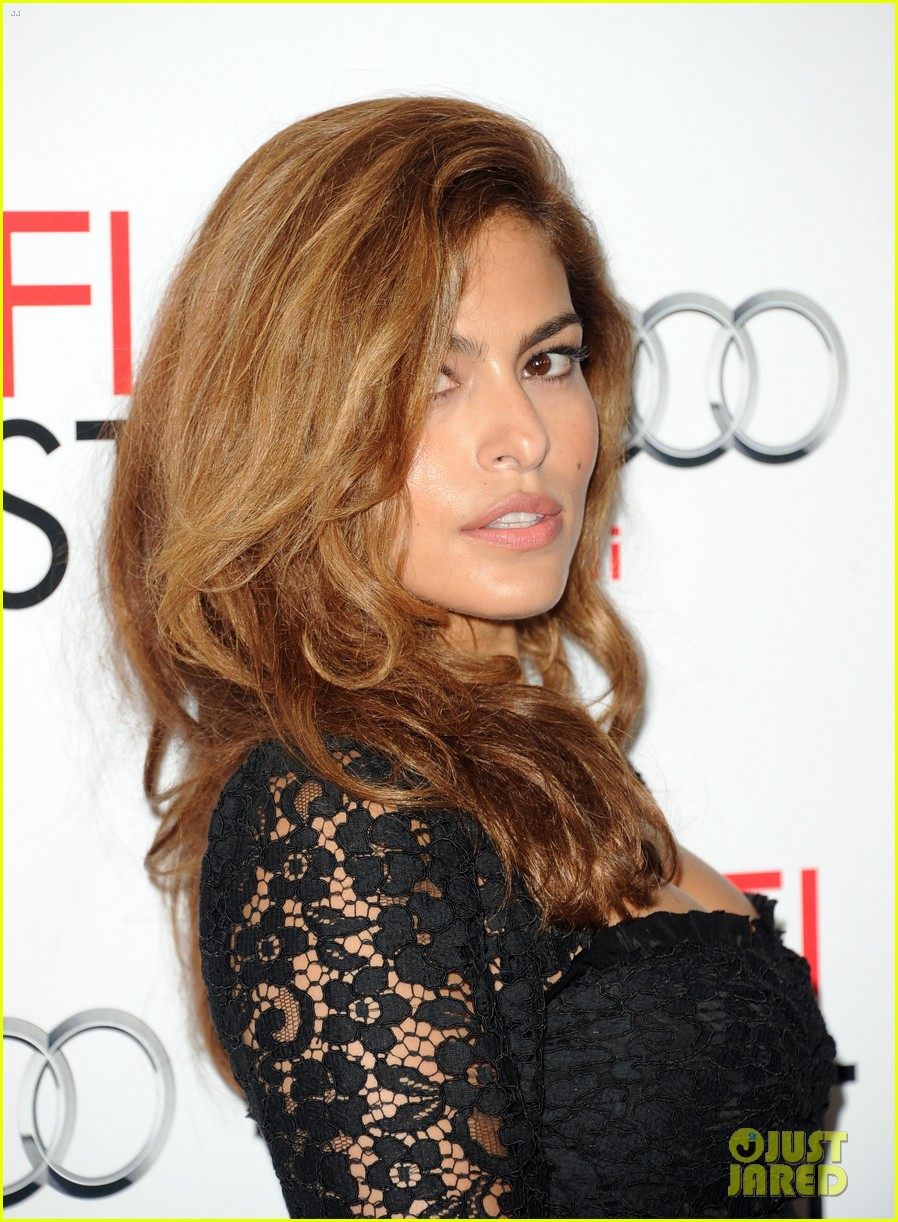 eva mendes holy motors afi screening 02