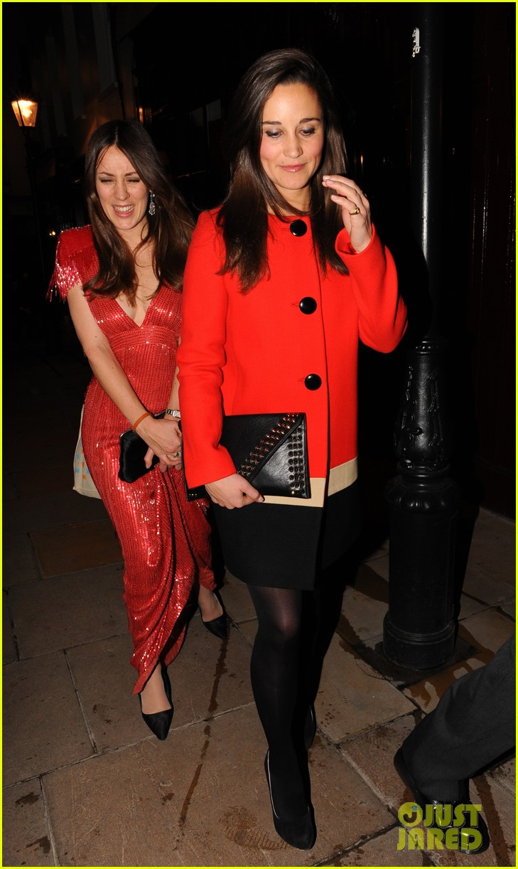 pippa middleton lady red 08