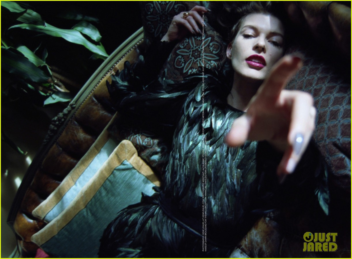 milla jovovich flaunt magazine feature 05