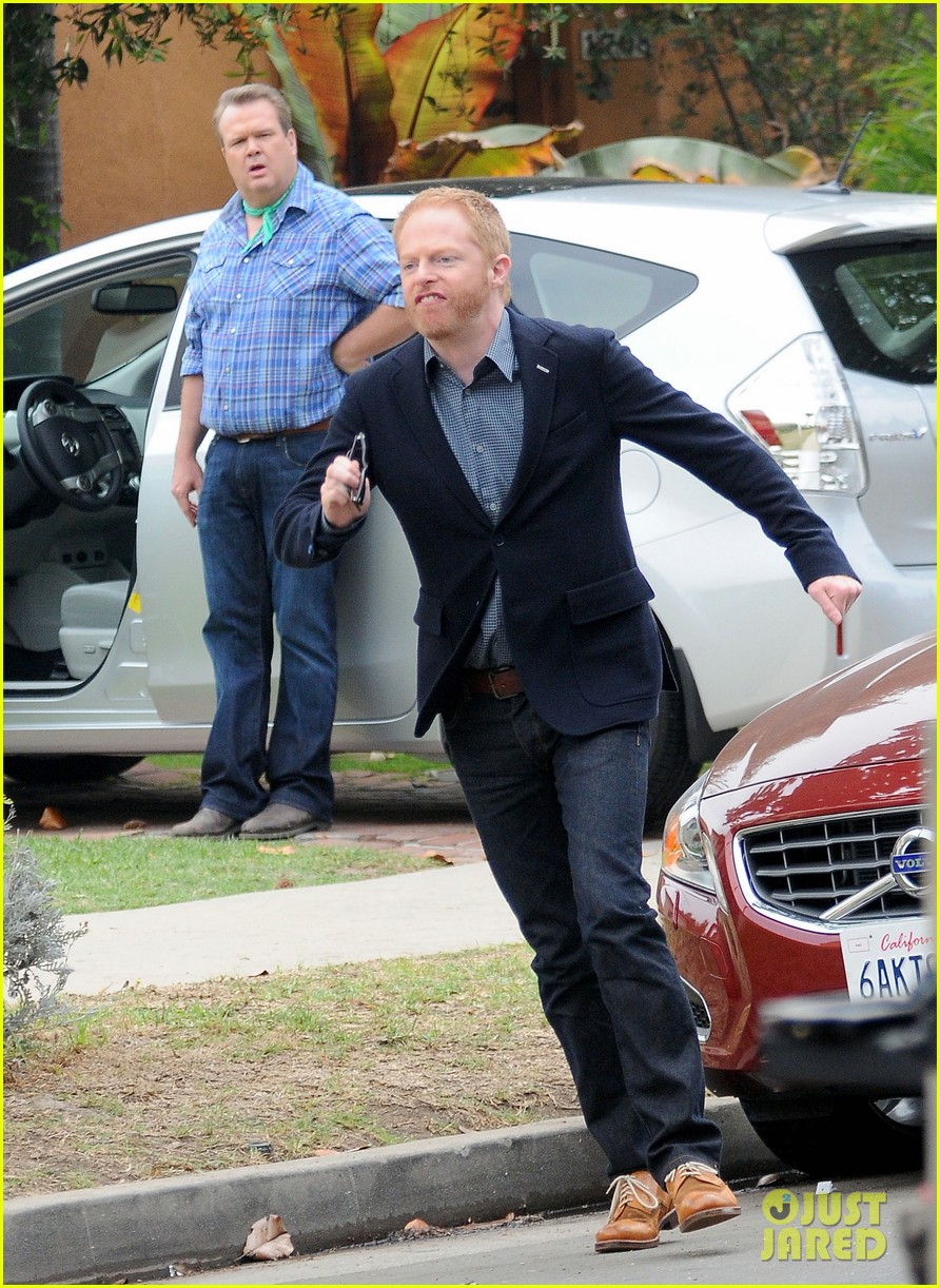 modern family filming scenes 06