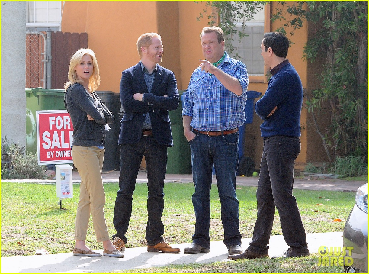 modern family filming scenes 14