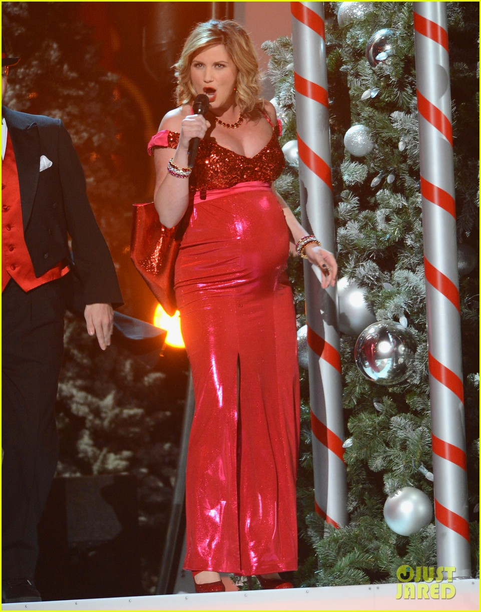 keith urban jennifer nettles country christmas taping 01