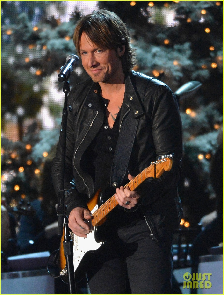 keith urban jennifer nettles country christmas taping 04