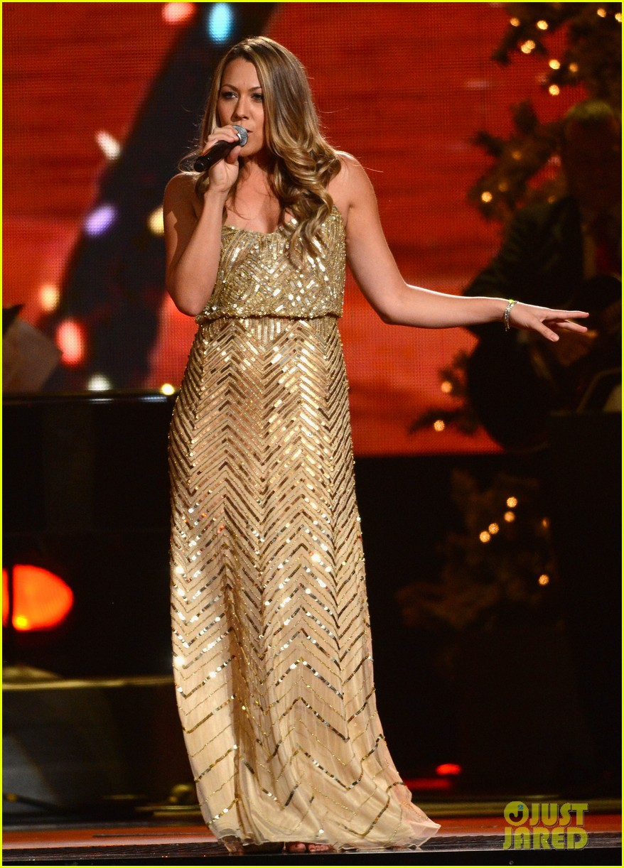 keith urban jennifer nettles country christmas taping 05