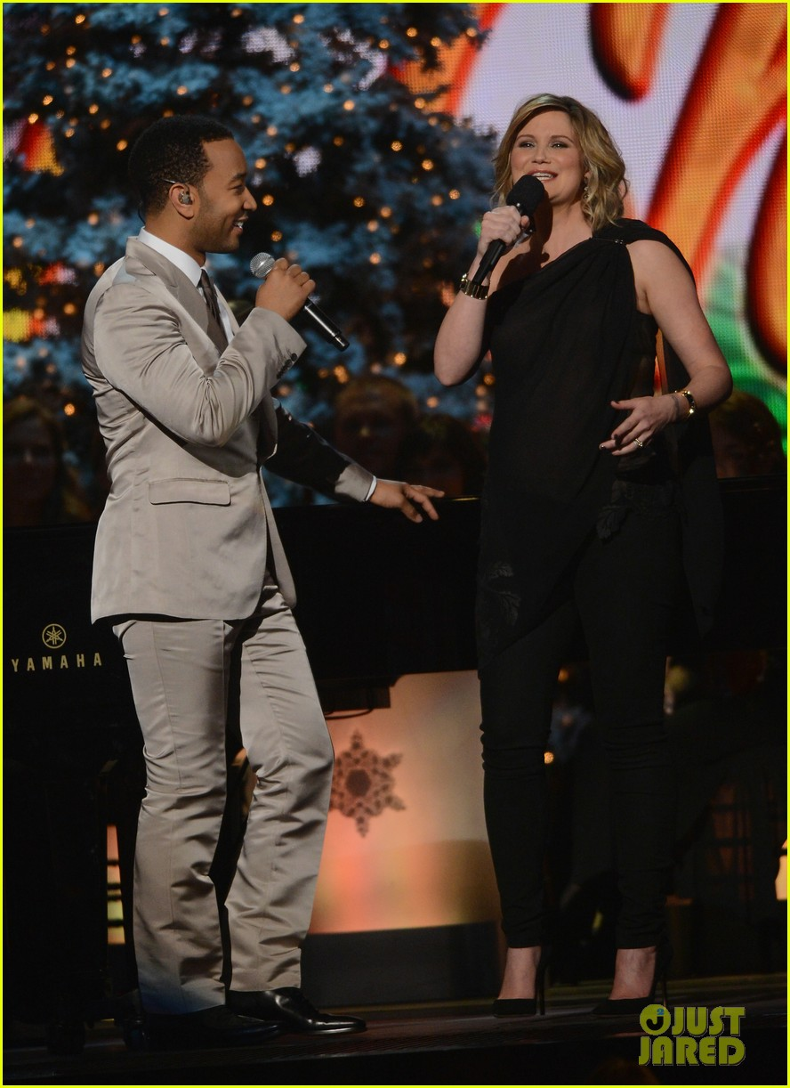 keith urban jennifer nettles country christmas taping 14