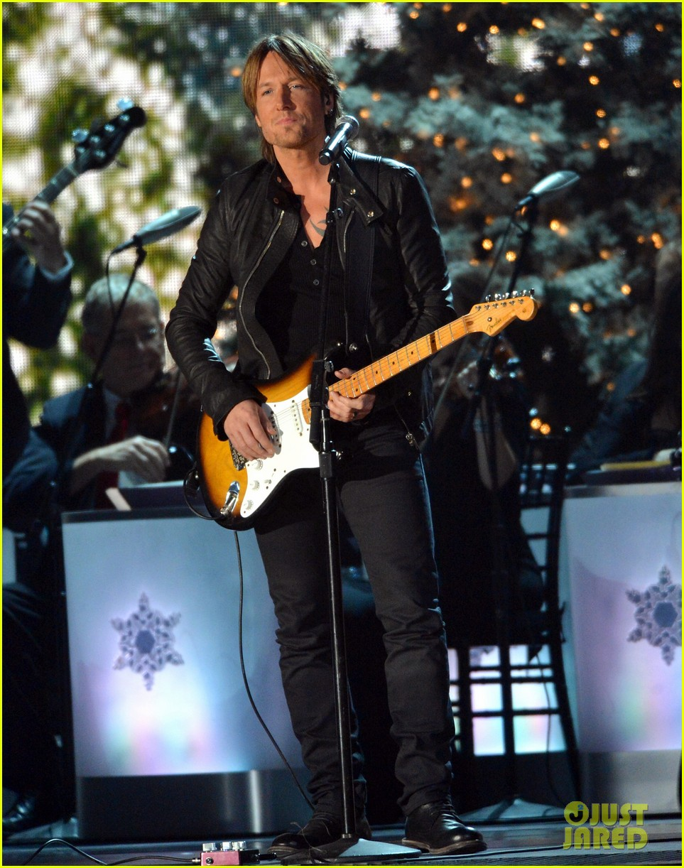 keith urban jennifer nettles country christmas taping 25