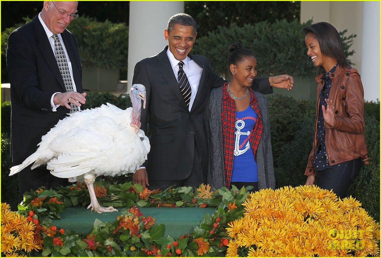 president obama kids pardon thanksgiving turkey 07