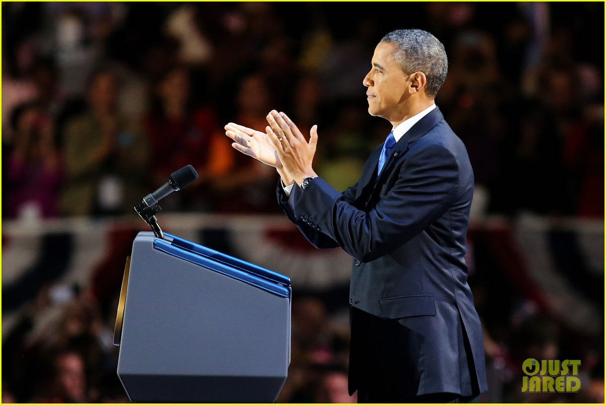 watch barack obama victory speech for election 2012 13