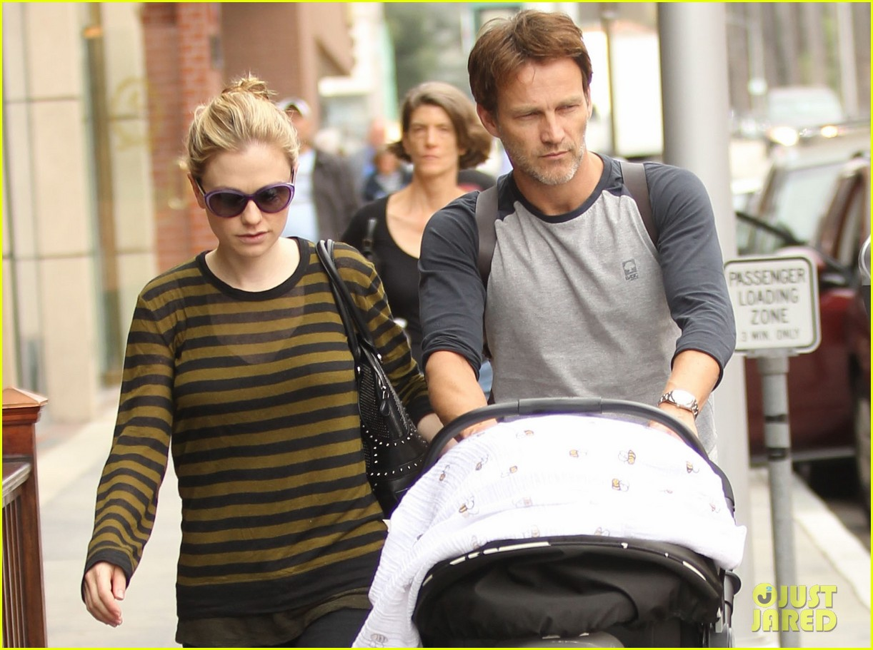 anna paquin stephen moyer doctors appointment with the twins 03