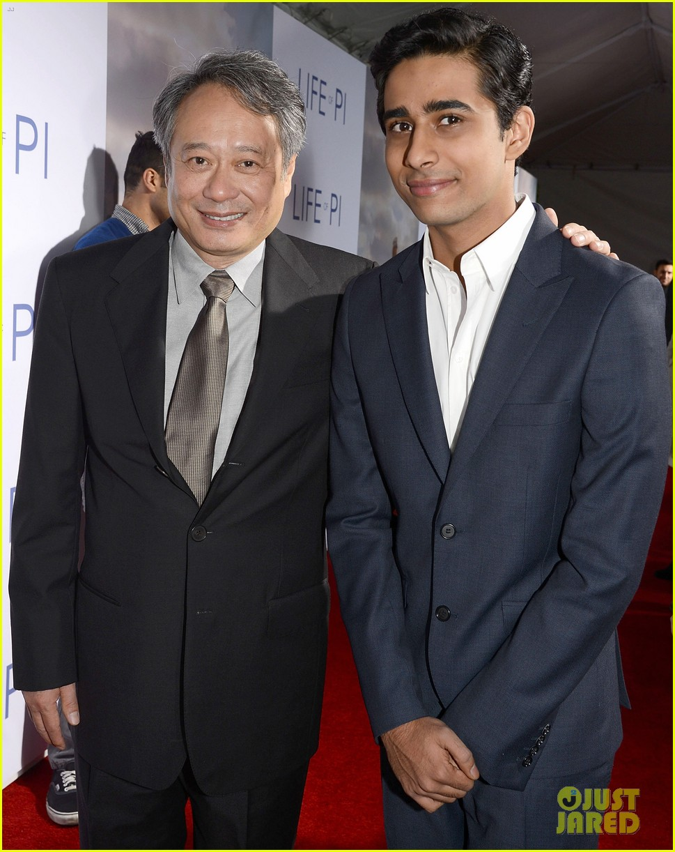 aaron paul suraj sharma life of pi special screening 072759661