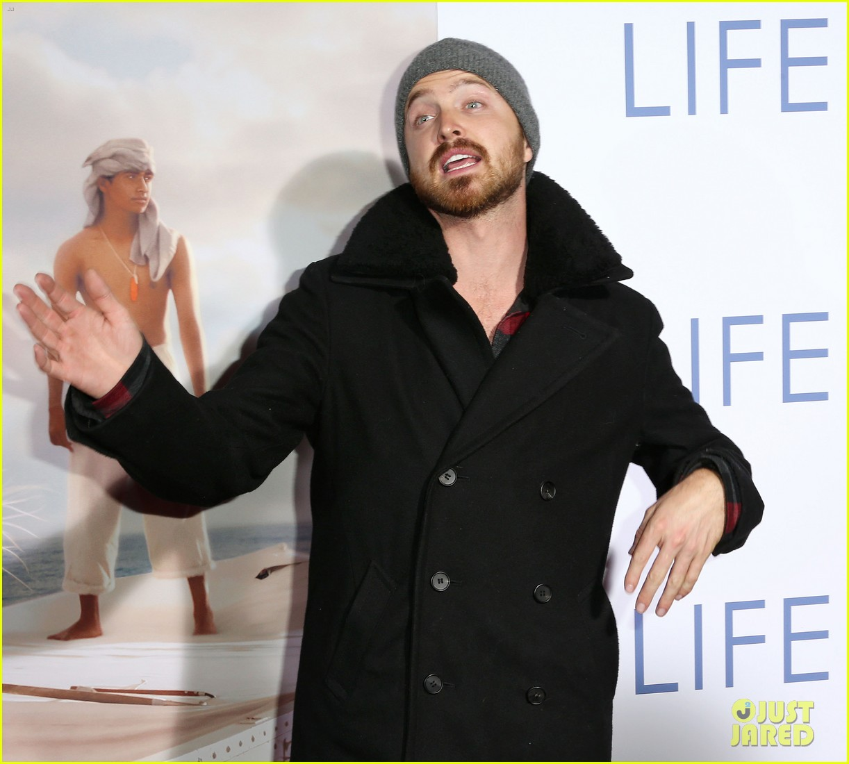 aaron paul suraj sharma life of pi special screening 21
