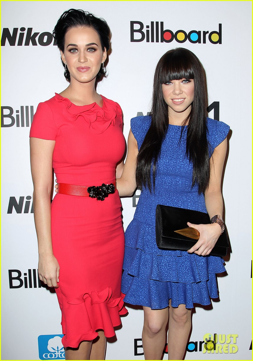 katy perry carly rae jepsen billboard women in music luncheon 06