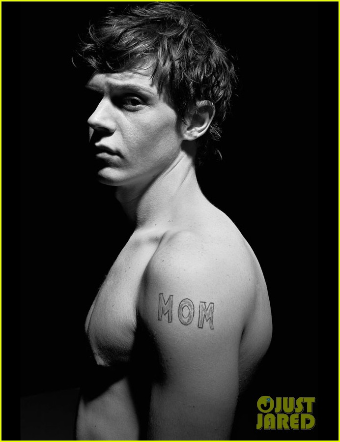 evan peters shirtless for flaunt feature 052752183