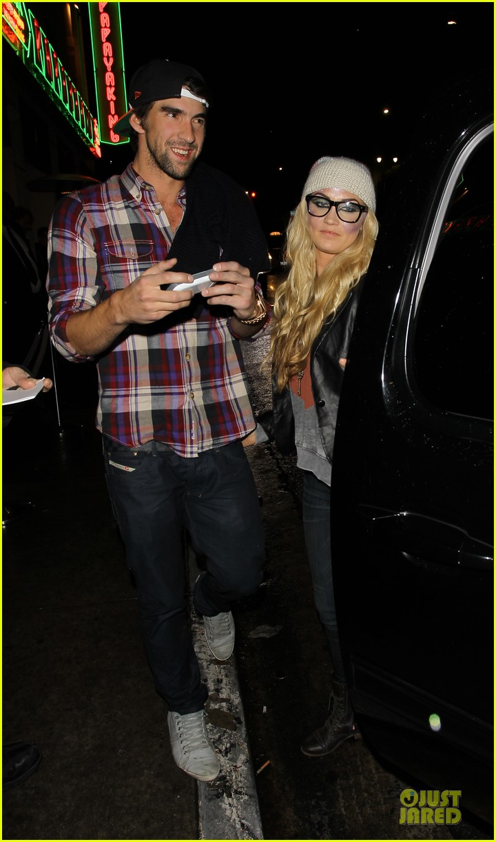 michael phelps megan rossee sayers club date 05