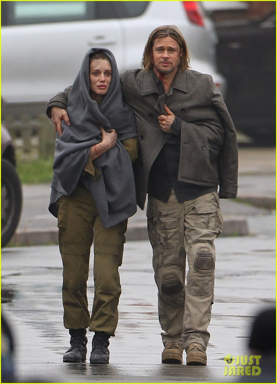brad pitt world war z reshoots 01