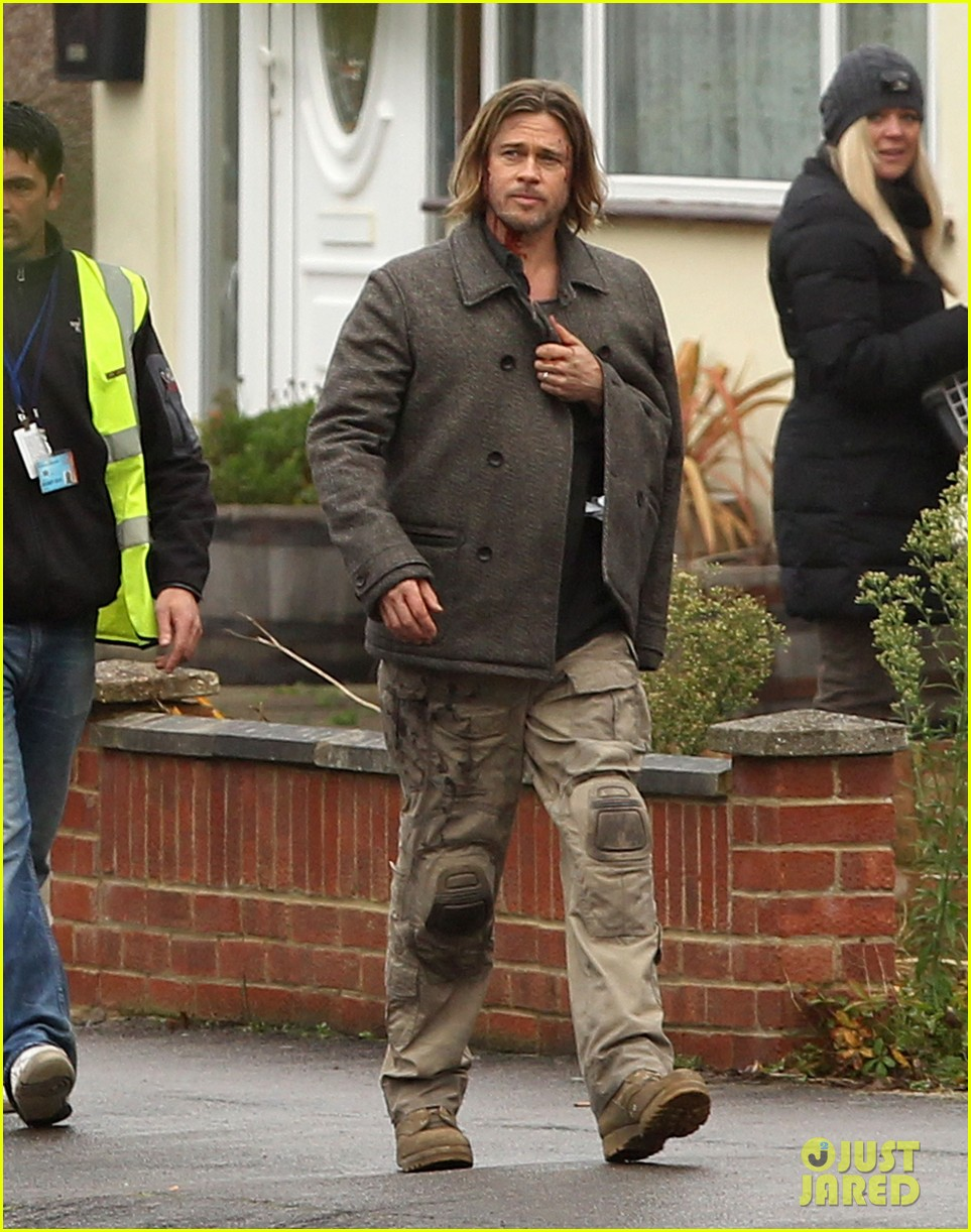 Brad Pitt World War z Watch Brad Pitt 'world War Z'