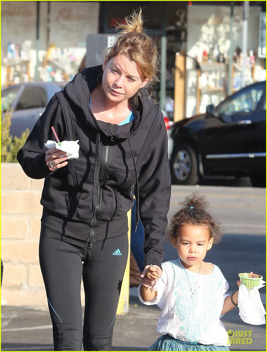 ellen pompeo stella ice cream duo 02