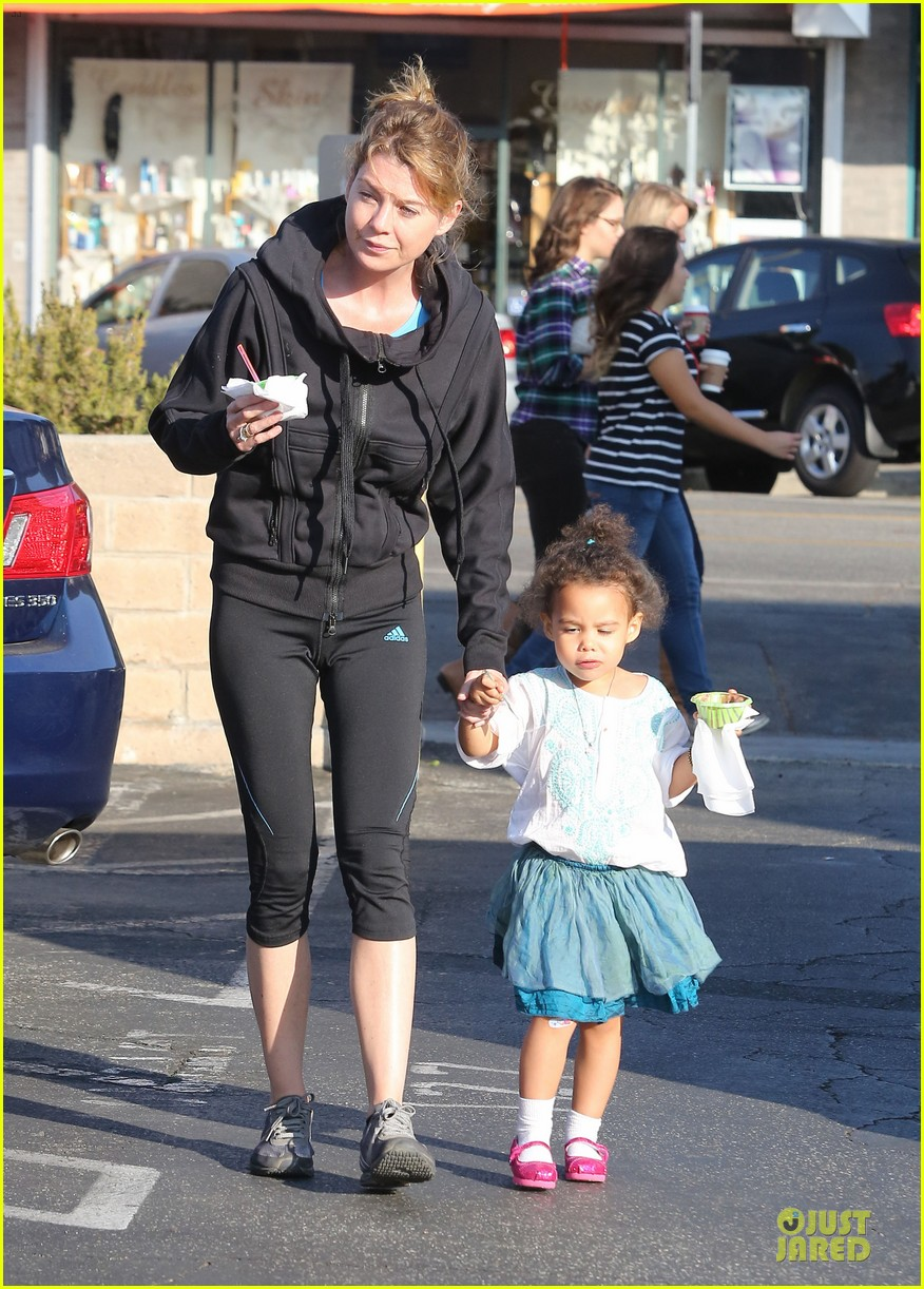 ellen pompeo stella ice cream duo 03