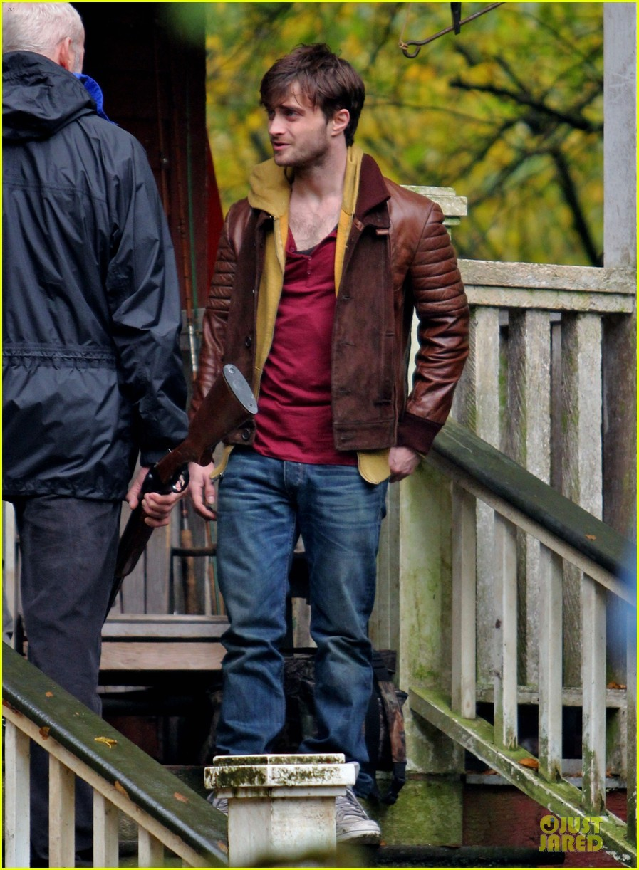 Full Sized Photo of daniel radcliffe horns open up ... Daniel Radcliffe