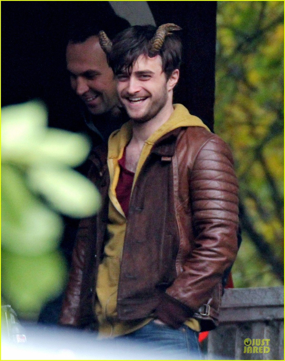 Daniel Radcliffe: 'Horns' Have the Power of Revelation! Daniel Radcliffe
