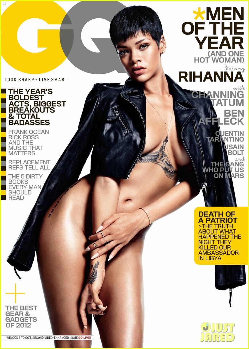 rihanna naked gq mag cover girl 01
