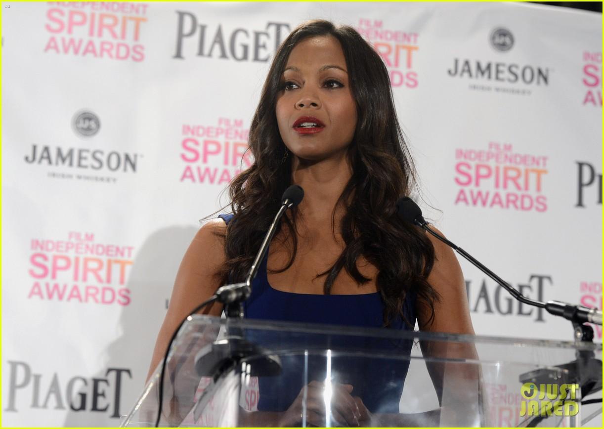 zoe saldana anna kendrick announce spirit awards nominations 2013 14