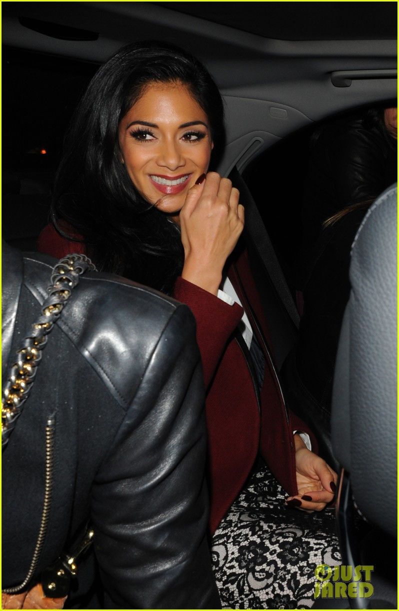 nicole scherzinger night out at nobu 02