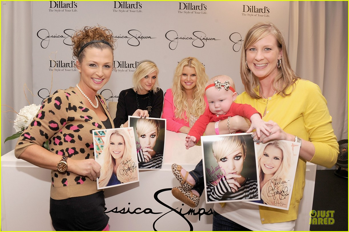jessica simpson ashlee simpson jessica simpson collection promotion in florida 07