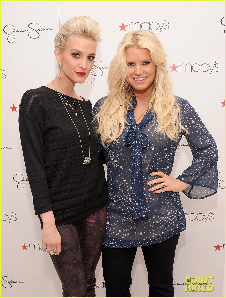 jessica simpson macys collection launch with ashlee 022754984