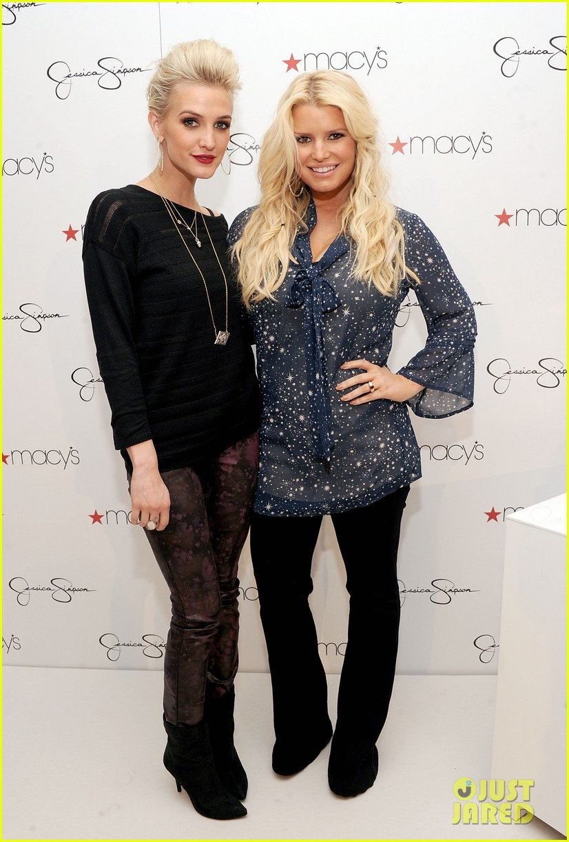 jessica simpson macys collection launch with ashlee 052754987