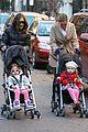 sarah jessica parker brisk morning walk with the kids 11
